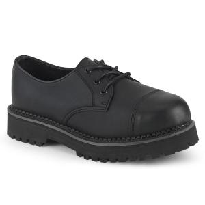 Vegan RIOT-03 demonia buty - punk buty ze stalowymi noskami