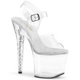 Akryl 18 cm Pleaser UNICORN-708 Platformie buty high heels