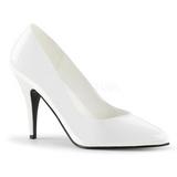Biały Lakierowane 10 cm VANITY-420 Buty na wysokim obcasie szpilki