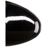 Czarne 11 cm Funtasma EXOTICA-2000 Platformie Kozaki Damskie