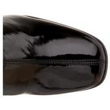 Czarne 9,5 cm FUNTASMA KIKI-350 Kozaki Damskie