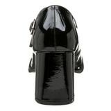 Czarne Lakierki 8 cm GOGO-50 Szpilki Damskie