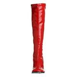 Czerwone 7,5 cm Funtasma GOGO-300 Kozaki Damskie