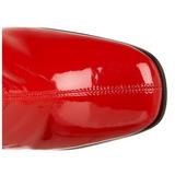 Czerwone 9,5 cm FUNTASMA KIKI-350 Kozaki Damskie