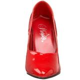 Czerwone Lakierowane 10 cm DREAM-420 Szpilki Wysoki Obcas dla Mężczyzn