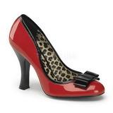 Czerwone Lakierowane 10 cm SMITTEN-01 Buty na wysokim obcasie szpilki