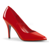 Czerwone Lakierowane 10 cm VANITY-420 Buty na wysokim obcasie szpilki