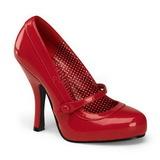 Czerwone Lakierowane 12 cm CUTIEPIE-02 Buty na wysokim obcasie szpilki