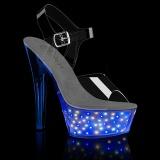 LED Zarowka platformie 15 cm ECHOLITE-208 sandały do tańca pole dance