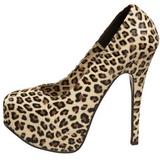 Lampart 14,5 cm TEEZE-35 buty damskie na wysokim obcasie