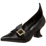 Matowy 6,5 cm SALEM-06 buty szpilki na czarownica