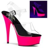 Neon 15 cm Pleaser DELIGHT-608UV buty do tańca pole dance