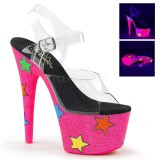 Neon glitter 18 cm Pleaser ADORE-708STR buty do tańca pole dance