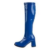 Niebieskie 7,5 cm Funtasma GOGO-300 Kozaki Damskie