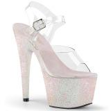Opal glitter 18 cm Pleaser ADORE-708HMG buty do tańca pole dance