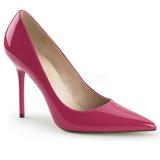 Pink Lakierowane 10 cm CLASSIQUE-20 szpilki ze szpicem wysokie obcasy