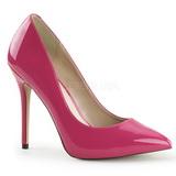 Pink Lakierowane 13 cm AMUSE-20 Czółenka na wysokim obcasie szpilki