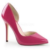 Pink Lakierowane 13 cm AMUSE-22 klasyczne szpilki damskie