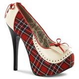 Pled Wzór 14,5 cm Burlesque TEEZE-26 buty damskie na wysokim obcasie