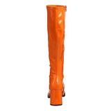 Pomarańczowy 7,5 cm Funtasma GOGO-300 Kozaki Damskie