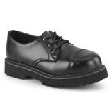 Prawdziwej skóry RIOT-03 demonia buty - punk buty ze stalowymi noskami