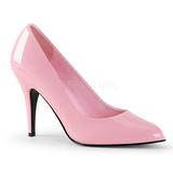 Różowe Lakierowane 10 cm VANITY-420 Buty na wysokim obcasie szpilki
