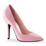 Różowe Lakierowane 13 cm SEDUCE-420 Buty na wysokim obcasie szpilki