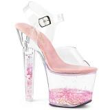 Różowe glitter 18 cm LOVESICK-708GH buty do tańca pole dance
