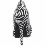 Zebra Wzór 12 cm SAFARI-06 Czółenka na wysokim obcasie