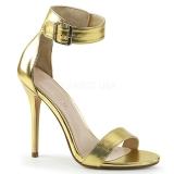 Złoto 13 cm AMUSE-10 buty na transwestyta