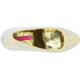 Złoto Kamieniami 14,5 cm Burlesque TEEZE-06R czółenka na wysokim obcasie