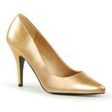 Złoto Matowy 10 cm VANITY-420 Buty na wysokim obcasie szpilki