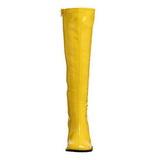 Żółty 7,5 cm Funtasma GOGO-300 Kozaki Damskie