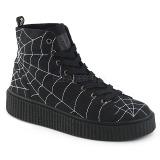 lniane 4 cm SNEEKER-250 sneakersy creepers buty